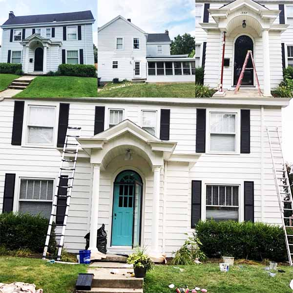 Advantage Painting services residential Columbus Ohio